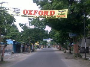 Jalan utama pare